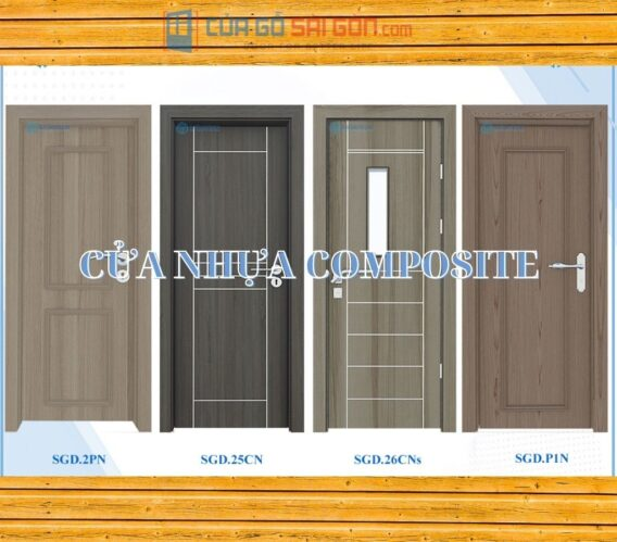 Cửa nhựa composite là gì? Nhà cung cấp 100+ mẫu nhựa composite chất lượng