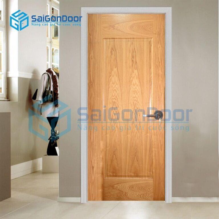 SaiGonDoor cam kết thi công cửa gỗ thông phòng đẹp, bền, hợp phong thủy